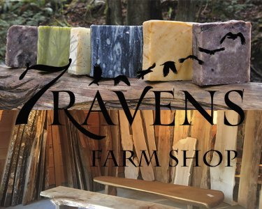 Seven Ravens Farm Shop Salt Spring Studio Tour